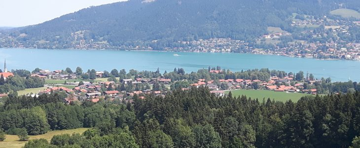 Tegernsee-with-tourist-boat