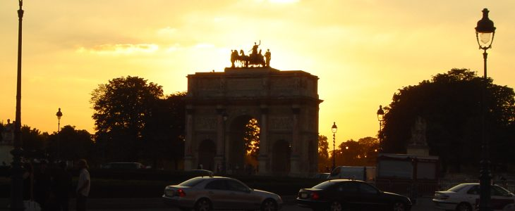 france-paris-sunset