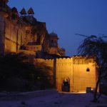india-jaipur-amber-fort-at-night