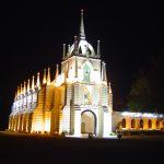india-goa-christian-church-illuminated