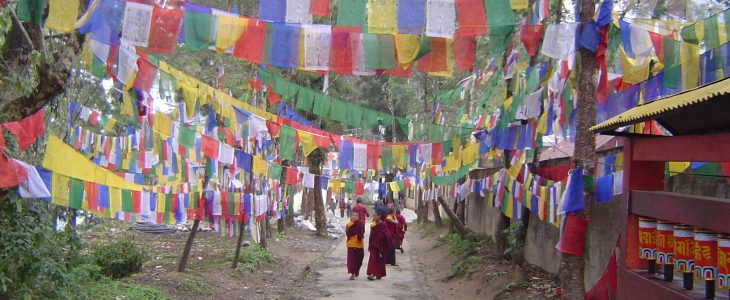 india-gangtok-buddhist-prayer-flags