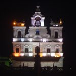india-goa-panaji-lighted-church