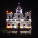 india-goa-panaji-lighted-church