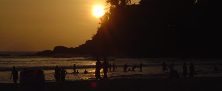 india-goa-baga-beach-sunset