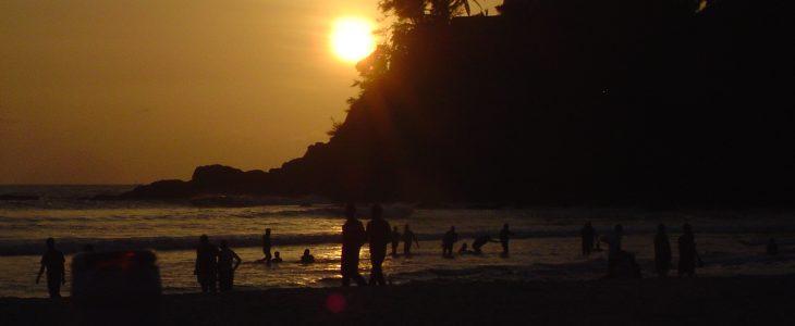 india-goa-baga-beach-sunset