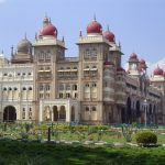 india-mysore-palace-side-view